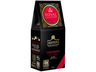 Чай Ристон ROYAL COLLECTION CEYLON SUPREME чер кр/лист 100г Россия