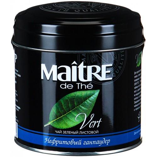 чай зеленый Maitre