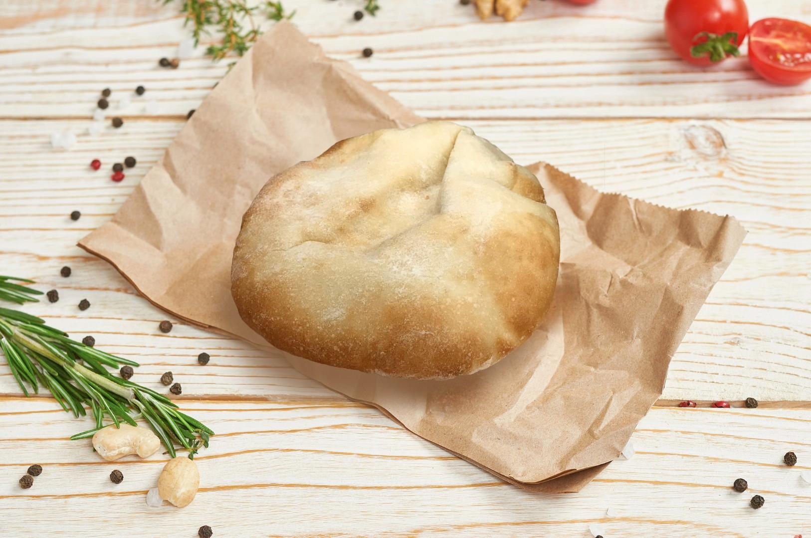 Греческая пита со шпинатом рецепт приготовления | 1079x1626