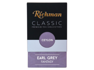 Чай Richman Ceylon earl grey 100 гр Россия