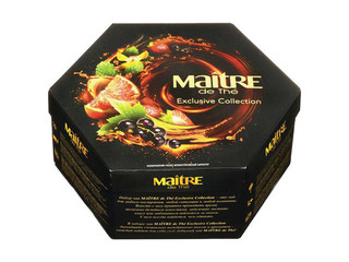 Чай Maitre Exclusive Collection (набор 5 зел+7черн) 120гр Россия